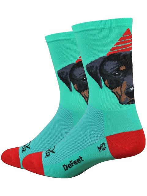 "DeFeet Aireator 6"" Socks Party Pupper"